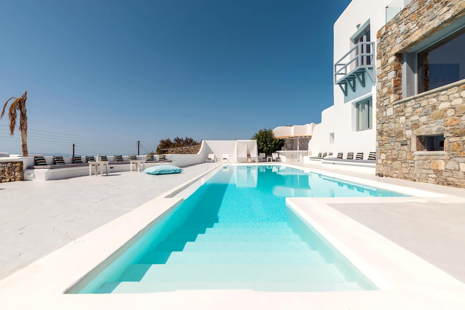 villa design mykonos